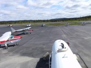 Flyene klare for oppdrag